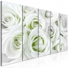 Cuadro - Satin Rose (5 Parts) Narrow Green