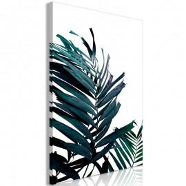 Quadro - Emerald Leaves (1 Part) Wide