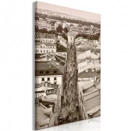 Cuadro - Cracow: Florianska Street (1 Part) Vertical