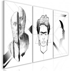 Cuadro - Facial Composition (3 Parts)