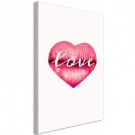 Cuadro - Love Lips (1 Part) Vertical