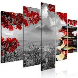 Cuadro - Japanese Adventure (5 Parts) Wide