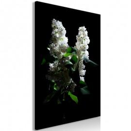 Cuadro - Lilacs at Night (1 Part) Vertical