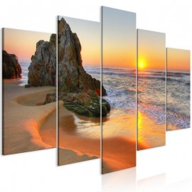 Quadro - Meeting at Sunset (5 Parts) Wide