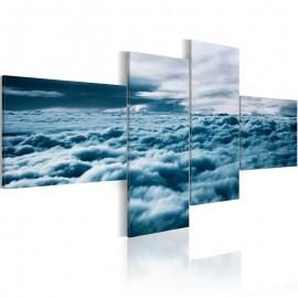 Cuadro - Cabeza en nubes