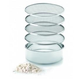 Tamiz Cedazo de Cocina 4 mallas intercambiables