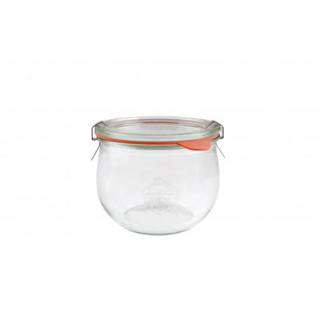 Tarros WECK Tulip tapa vidrio + accesorios cierre