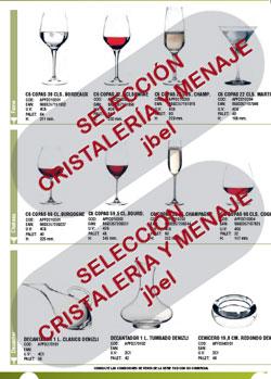 Catalogo en pdf de vasos y copas de cristal