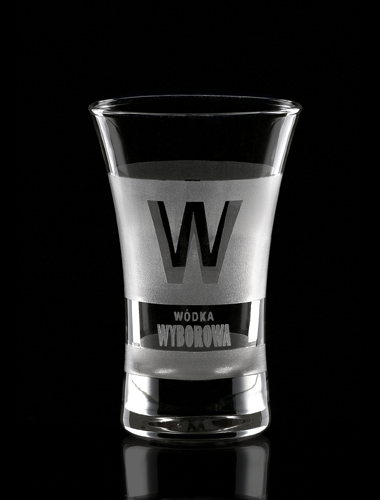 Vaso de chupito personalizado con logo y marca