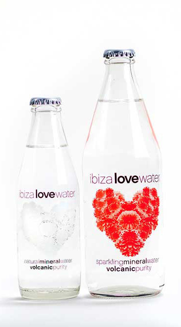 Botellas de agua decoradas marcas logos